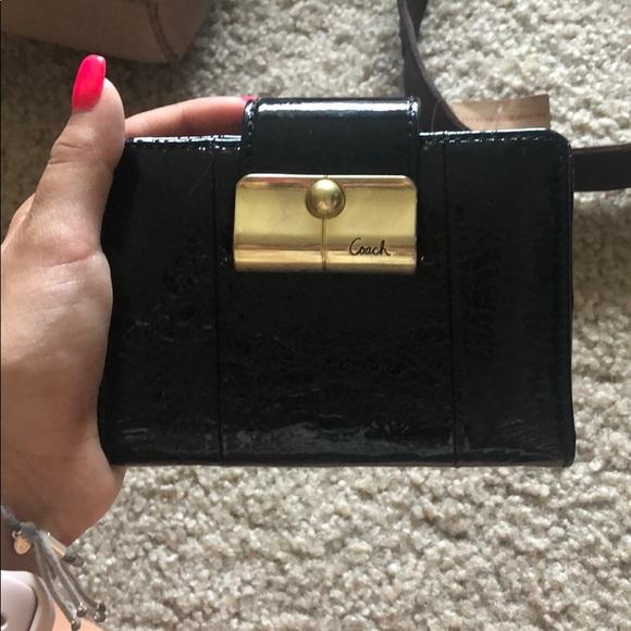Coach Handbags - Coach Patent Leather Wallet